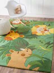 Green Jungle Rug