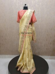 Gotapatti Saree with Embroidered Blouse